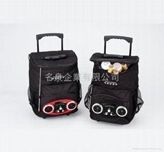 MR-366 Trolley cooler bag radio