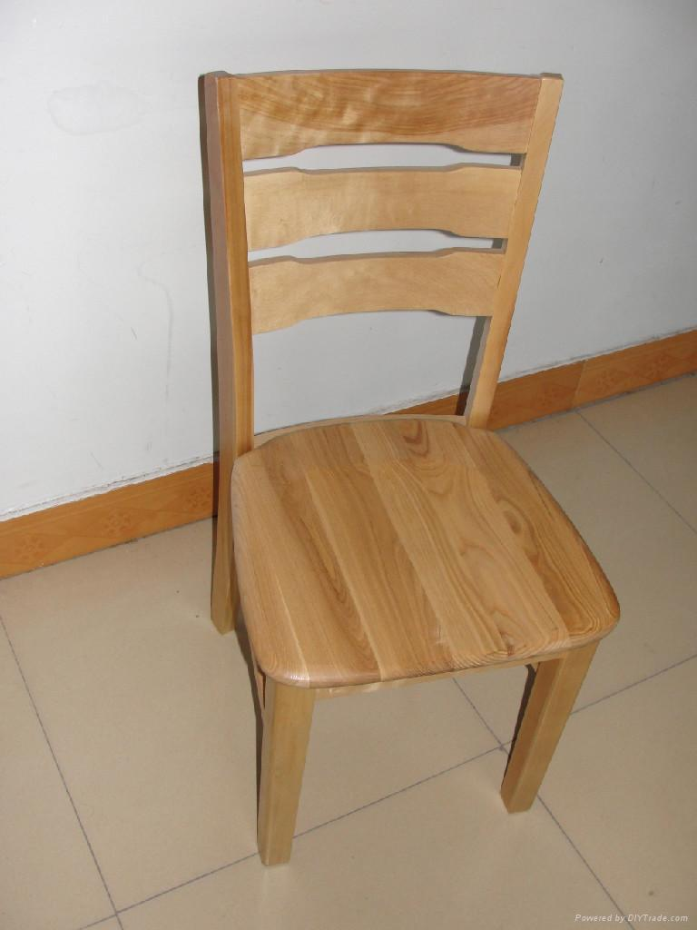 Solid Wood Chair China Dining Room Furniture