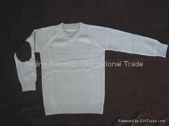 cashmere sweater,V Neck Sweater For Children