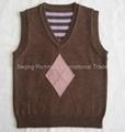 merino sweater, Children Merino Vest