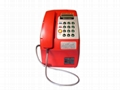 Plastic VoIP coin payphone support many countries coin 1