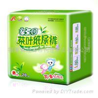 绿乐、亲茶园茶叶纸尿裤/尿片