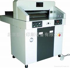SLQ670HP液压程控切纸机