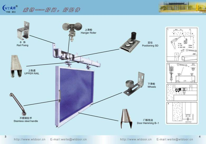 Sliding Door Components Accessories : Sliding door accessories weite china other machine