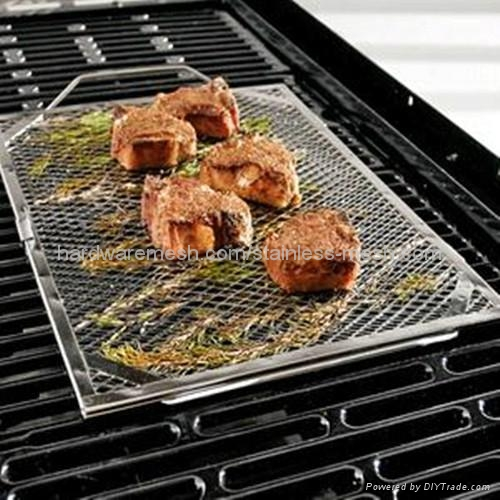 Barbecue grill netting 2