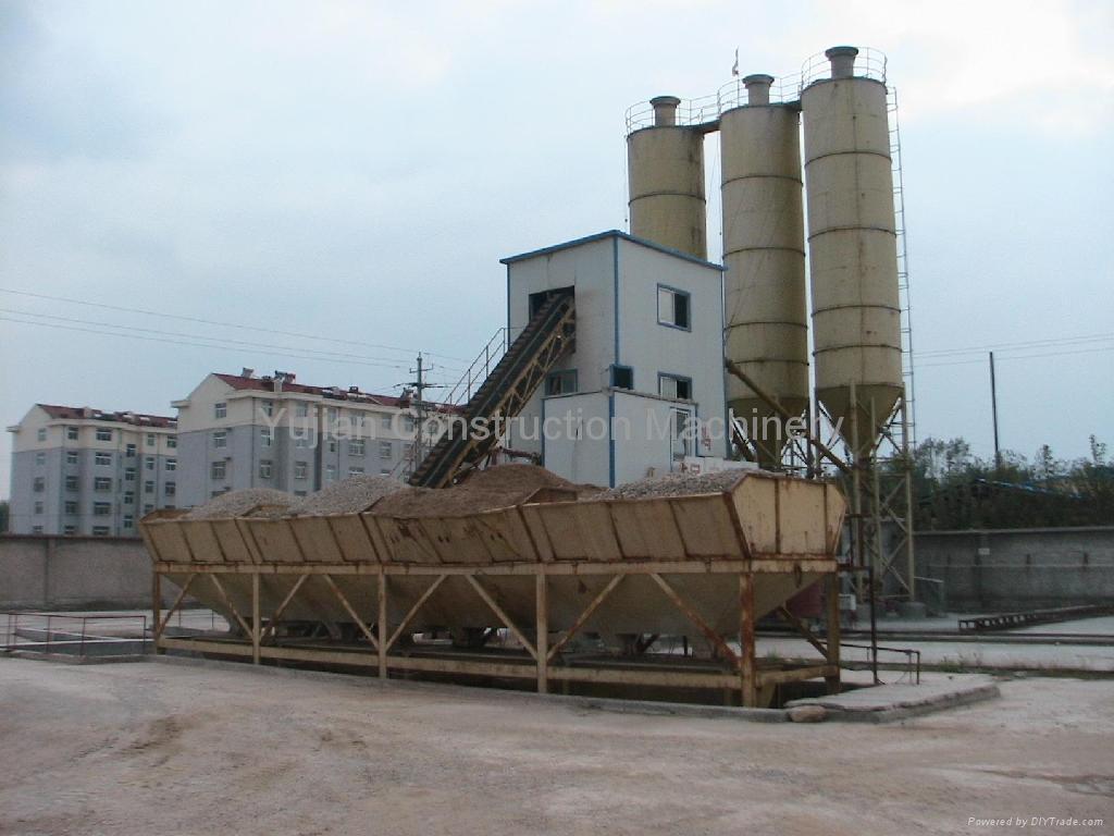 Concrete batching plant construction machinery hzs