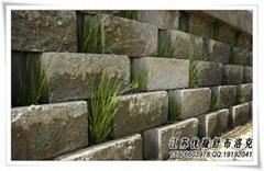 自嵌式植生擋土牆(魚巢磚)