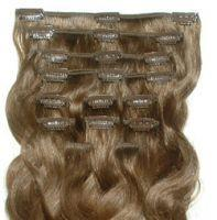 clips in Hair Extension : 18 clips