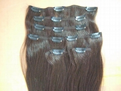 clips in Hair Extension : 15 clips