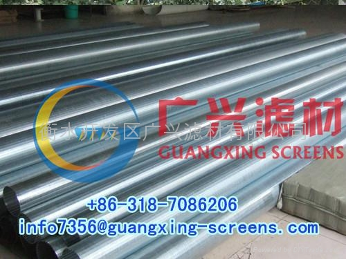 water well screen , oil well screen , wedge wire screen