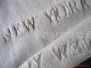 竹纖維字母天鵝絨