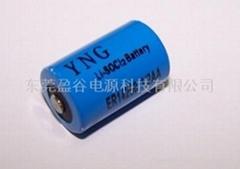 3.6V一次锂亚电池ER14250 1/2AA