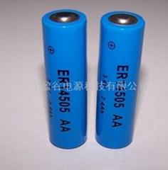 AA型高容量ER14505智能水表专用锂电池