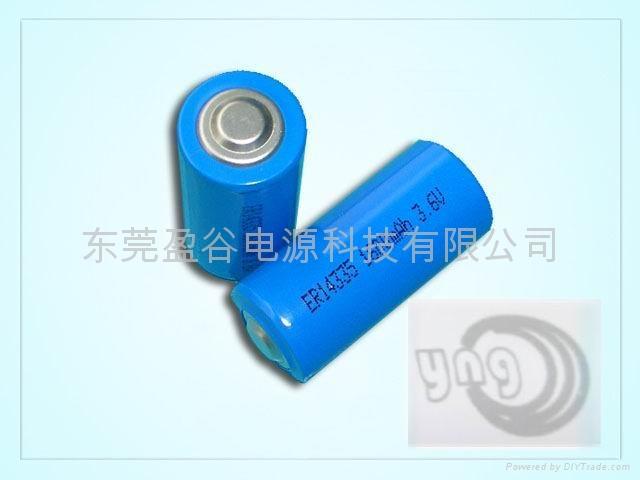 智能水电表专用锂亚电池ER14335 2/3AA 1