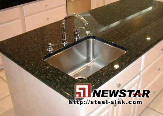 Undermount Stainless Steel Sink With Granite Countertop 1 ...