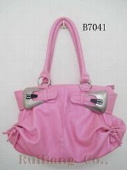 pu leather fashion handbags