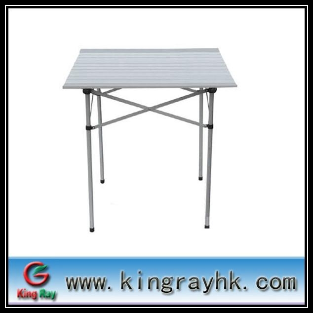 folding outdoor tables with aluminum material