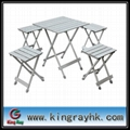 folding leisure tables with aluminum