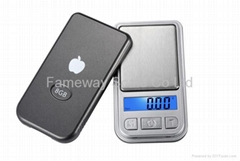Digital Pocket Scale mini MP3 style Mini01