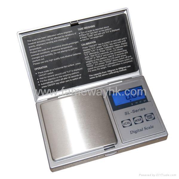 電子口袋秤PS-SL 1