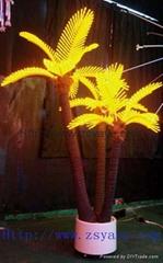 YAYE Hot Sell LED Coconut Tree Light LED Palm Tree LED Tree LED Orange Tree