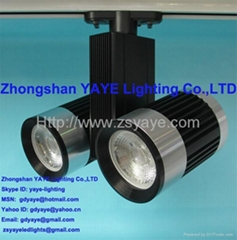 YAYE Hot Sell 1W-50W LED Track Light COB 10W 15W 20W 30W 40W 50WLED Track Light