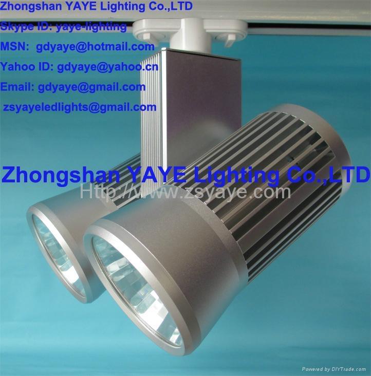 YAYE Hot Sell 1W-50W LED Track Light COB 10W 15W 20W 30W 40W 50WLED Track Light  2