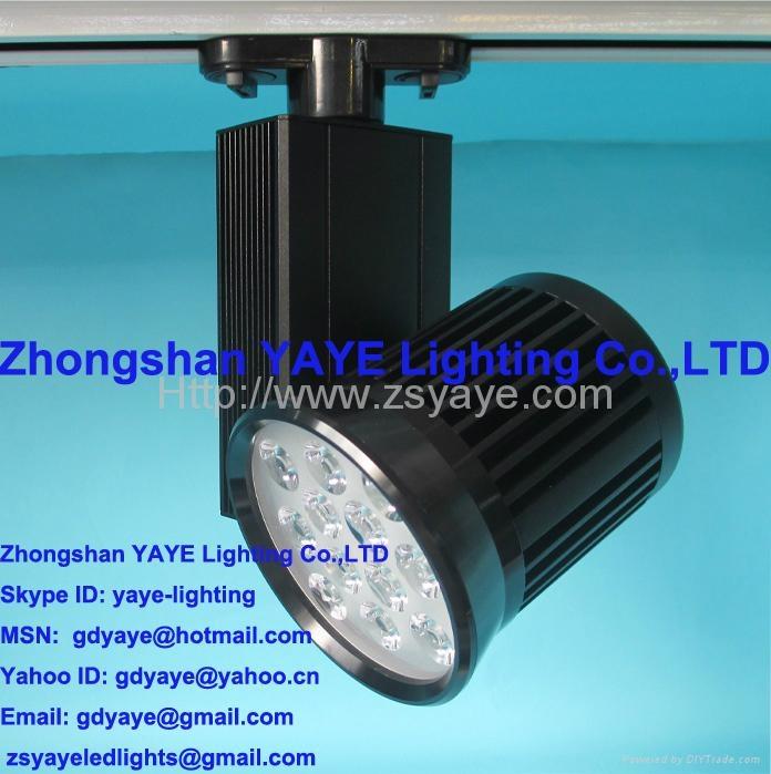 YAYE Hot Sell 1W-50W LED Track Light COB 10W 15W 20W 30W 40W 50WLED Track Light  5