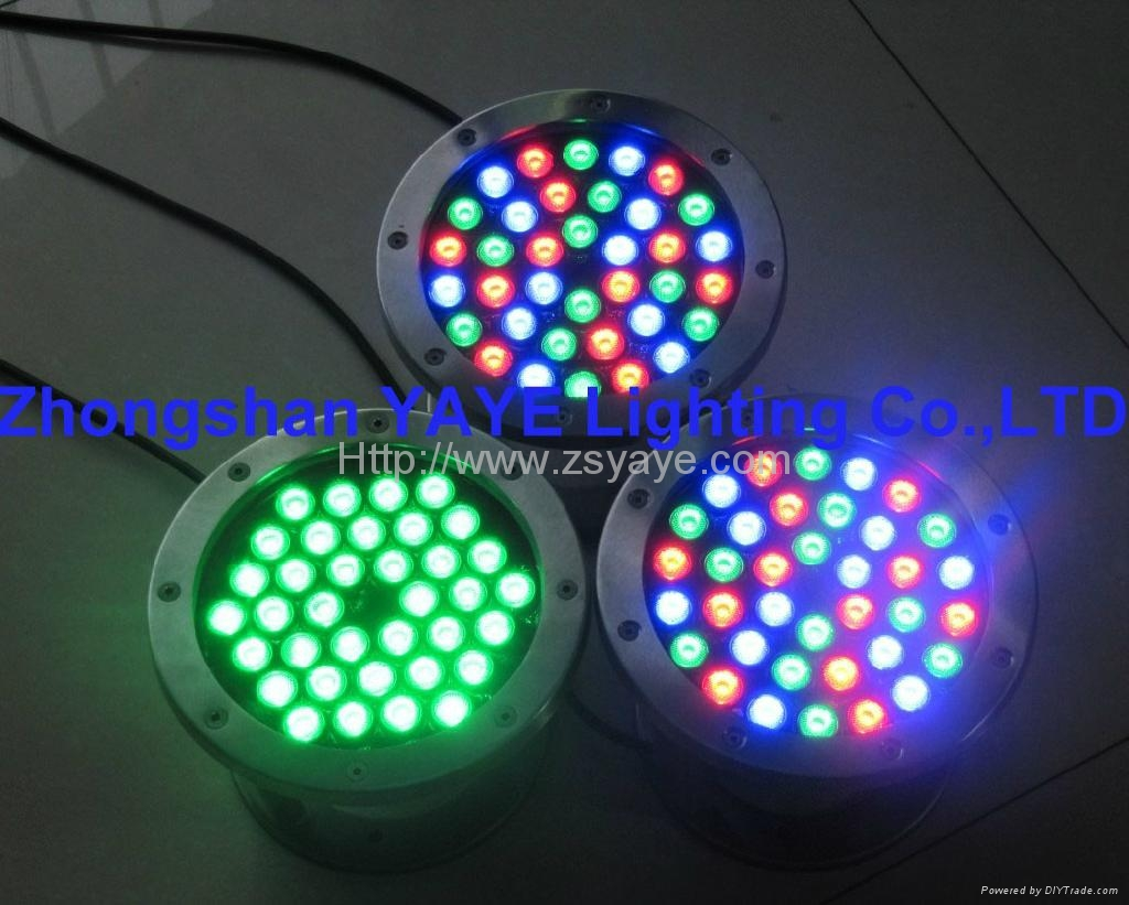 W w led swimming pool light rgb led fountain light lamp with