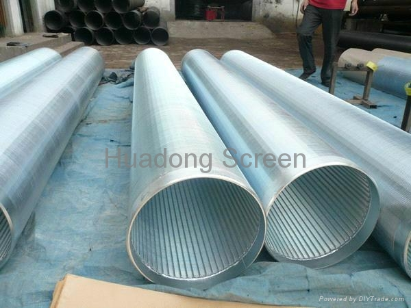continuous slot Vee wire screens 1
