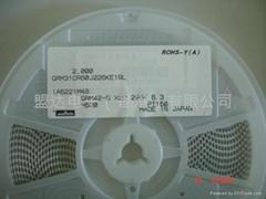 MURATA 片式陶瓷电容 GRM32ER61A476ME20L 1210 47uf 10v