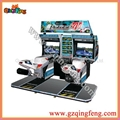 Simulator driving car game machine - 29""