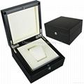 glossy jewelry& watch box wooden box