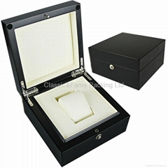 glossy jewelry& watch box wooden box