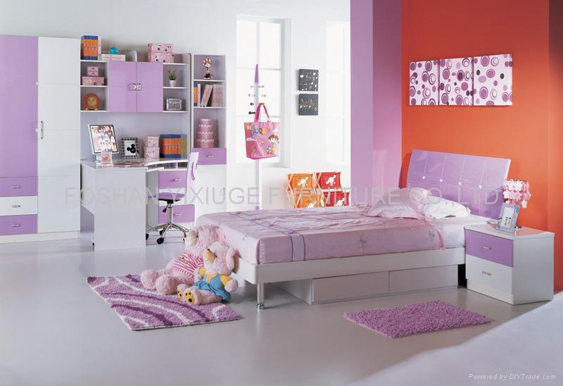 KIDS BEDROOM SET - Product Catalog - China - FOSHAN YIXIUGE FURNITURE