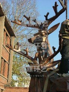铜质雕塑 2