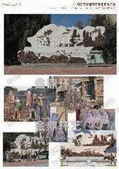 黑龍江浮雕壁畫