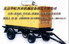 50kw-500kw靜音發電機出租