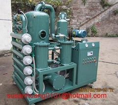Transformer oil filtration plant with 2 stage vacuum system