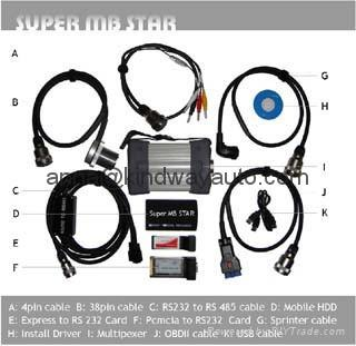 Super MB Star  mercedes benz diagnostic tool 1