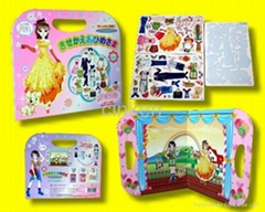 Dress-up Doll Magnetic Toy Hand Bag