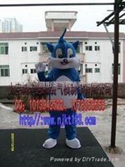 卡通蓝猫服装