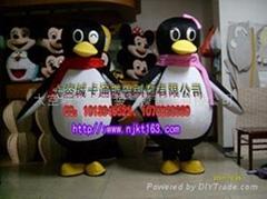 卡通企鹅QQ服装