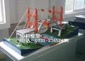 桥梁及桥梁施工模型