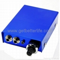 Blue Aluminum Alloy Power for tattoo Machines