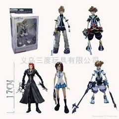 Kingdom Hearts Anime Figure,anime toy,anime pvc figure,action toys