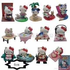 Hello Kitty action figures