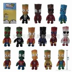 Simpson cartoon toys