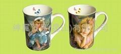 Mug、Bone porcelain cup、cup、bone china