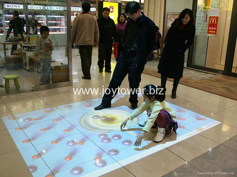Interactive Floor Projection Jtir001 3dtouch China